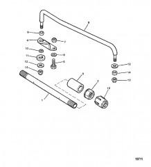 Схема Стержень тяги и компоненты