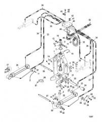 Кольцо кардана (Встроенный транец)