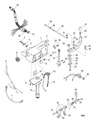 Схема Комплект рукоятки рулевого механизма