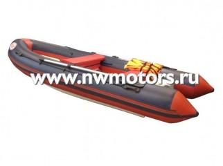 Комбинированная лодка RIB FLINC 430(Цвет: Синий)