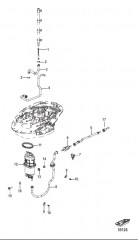 Схема Система подачи топлива – шланги и блок