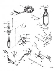 Комплект преобразования электрического пуска (50-44369A3)
