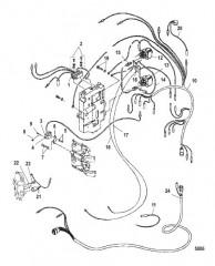 Электрические компоненты (Модели с электрическим стартом)
