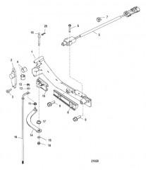 Схема Тяга механизма переключения передач