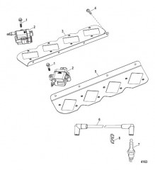 Схема Электрические компоненты (Катушки зажигания)
