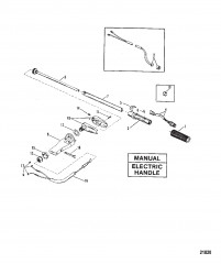 Steering Handle Assembly (Manual/Electric Handle)