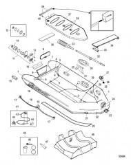 Схема Модель Air Deck (Светло-серый), высокого давления