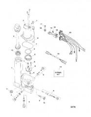 Система дифферента в сборе Гидравлический