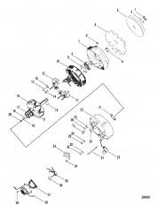 Схема ГЕНЕРАТОР (MOTOROLA №8MR2039K)
