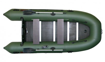 Надувная ПВХ лодка «Комбат CMB-360»(Цвет: Темно-серый) Аватар