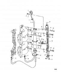 Схема Форсунка для впрыска топлива
