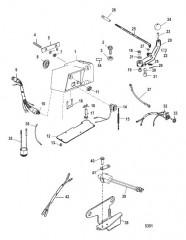 Схема Компоненты рукоятки рулевого механизма