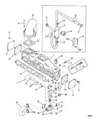 Выхлопной коллектор и водяная система (С колпачками) 3.0LX