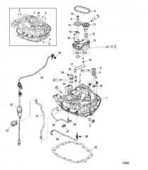 Масляный насос/соединительная пластина – верхние детали