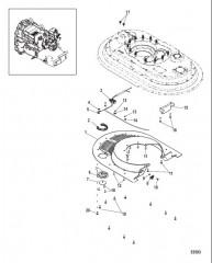 Схема Мидельная секция Нижняя часть