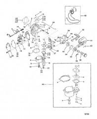 Схема Карб. (9.9/15)(USA-С/Н-0G112450/BEL-С/Н-9831800 и выше)