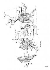 Схема КАРБЮРАТОР (ROCHESTER)(205 – 4.3L/LX)