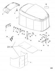 Схема Компоненты водометной системы