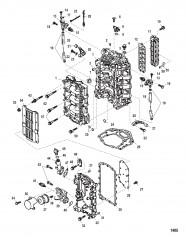 Схема Блок цилиндра