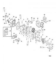Схема Блок цилиндров и крышки