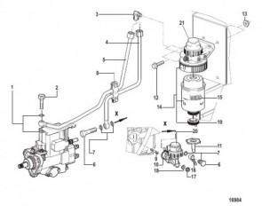 Топливный насос и фильтр (Все электрические двигатели)