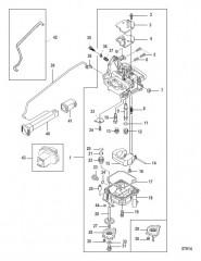 Схема Карбюратор 0R676745 и Ниже