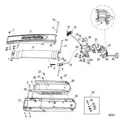 Опора Gator 360 Flex II (черн.) (8M4000308)