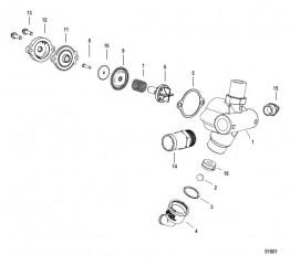 Схема Poppet Valve Assembly