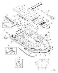 Схема Модель Mecury Heavy Duty 365 (С алюминиевым настилом)