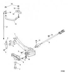 Тяга механизма переключения передач С/н 1B973743 и ниже