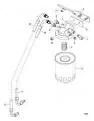 Схема Топливный фильтр Alpha