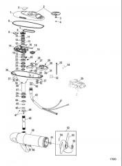 Двигатель для тралового лова в сборе (Модель PTSV82FBD) (24 В)