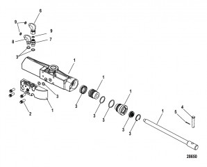 Цилиндр рулевого управления Гидравлический усилитель рулевого механизма