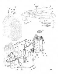 Схема Блок подачи воздуха в сборе
