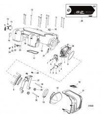 Схема Throttle Body Mechanical Throttle-Shift
