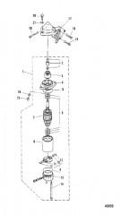 ЭЛЕКТРИЧЕСКИЙ ПУСК ДВИГАТЕЛЯ (E-251106/EL-552121 и выше)