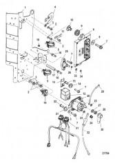 Электрические компоненты Монтаж PCM, 2B092562 и ниже