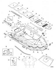 Схема Модели Heavy Duty XS 365-430 (Алюминиевый настил, красный)