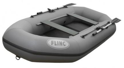 Надувная лодка ПВХ FLINC F280L(Цвет: Серый)
