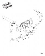Схема Крепления двигателя