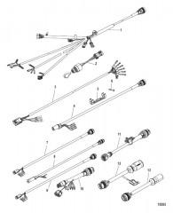 Схема Комплект переходника для жгута проводов/замка зажигания (С 896537K02 по K29)