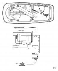 Схема электрических подключений (Модель L43ES / AG43ES) (12 В)