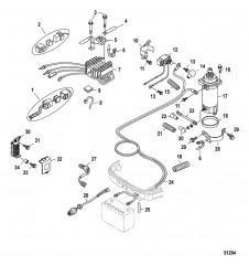 Комплект преобразования электрического пуска (8M0071380)