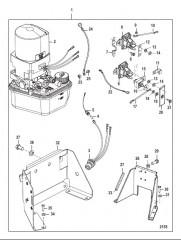 Схема Насос системы дифферента в сборе (В сборе)