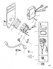 Схема Компоненты цифровой системы зажигания