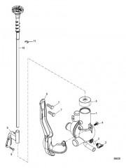 Схема Водораспределительный корпус С приводом от тяги