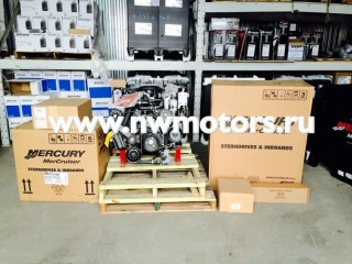 Комплект: двигатель Mercruiser 5.0L MPI 260 л.с. + транцевая сборка Bravo + поворотно-откидная колонка Mercruiser Bravo One