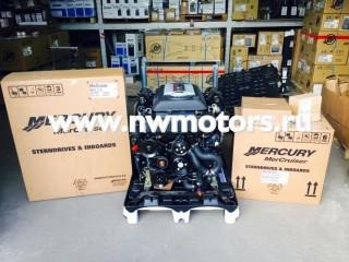 Комплект: двигатель Mercruiser 6.2L 350 л.с. + транцевая сборка Bravo + поворотно-откидная колонка Mercruiser Bravo Three 3 Изображение 2