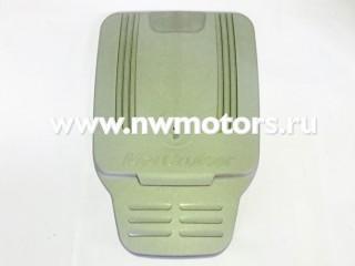 Крышка двигателя Mercruiser 4.3/5.0/5.7/6.2LMPI серебристая