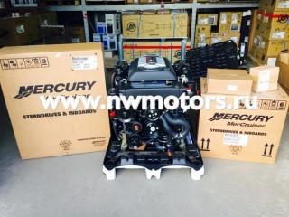 Комплект: двигатель Mercruiser 6.2L 300 л.с. + транцевая сборка Bravo + поворотно-откидная колонка Mercruiser Bravo Two